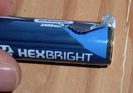syonyk u0027s project blog hexbright flashlight battery teardown and