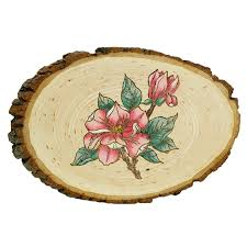 wood for wood burning wood burned magnolia flower project from walnut hollow diy