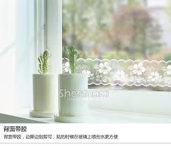 Kitchen Cabinet Paper Sliding Door Window Glass Film Waistline Kitchen Cabinet Mirror