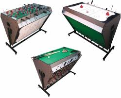 pool and air hockey table 3 in 1 games table football table pool air hockey