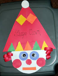 shapes craft triangle circle square rectangle preschool