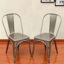 Tabouret Bistro Steel Side Chairs Set Of 2 Overstock Com