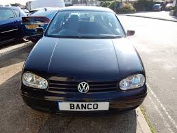 used volkswagen golf 1 8 for sale motors co uk