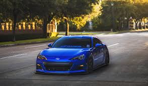 brz subaru wallpaper subaru brz blue front stance hd wallpaper