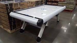medal sports game table costco air hockey table 299 youtube