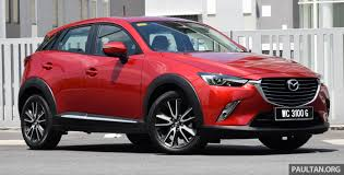 mazda cx3 black mazda cx 3 ckd not likely for malaysia bermaz