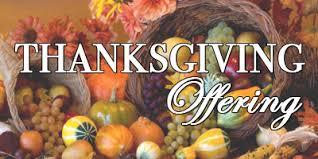 thanksgiving offering 2015 christian church