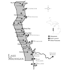 Holland Michigan Map by About Wmup West Michigan Underwater Preserve