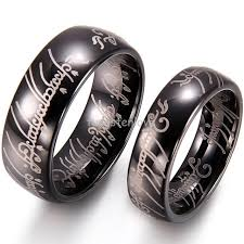 tungsten women rings images High polished dome lord laser etched tungsten carbide rings 8mm jpg