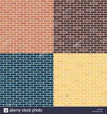 different types of brick walls background of brick walls red