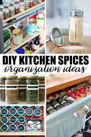kitchen spice organization ideas 20 creative diy kitchen spices organization ideas simply stacie