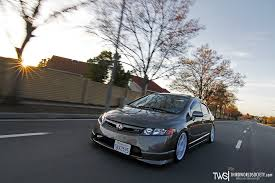 si e v o b honda civic si rolling on evo 8 wheels c flickr