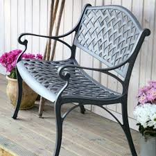 Steel Garden Bench Slate Jasmine Metal Lattice Garden Bench Lazy Susan