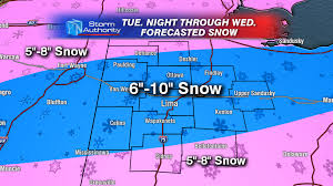 Snowfall Totals Map Heavy Snow Beyond The Studio