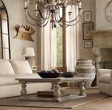 restoration hardware 17 c monastery table 17th c monastery coffee table in grey 695 for small size