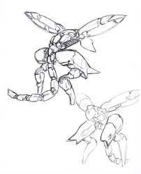 metal gear ray rough sketch by solidalexei on deviantart