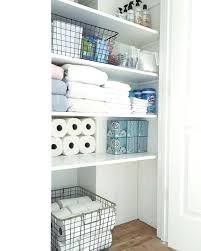 shelving ideas for small bathrooms bathroom closets ideas justbeingmyself me