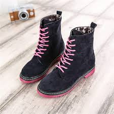 womens combat boots australia fashion 2016 australia colorful casual flat leisure