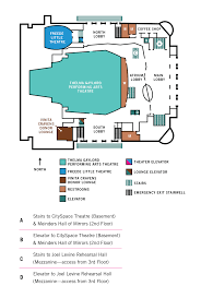 emergency exit floor plan template civic center layout