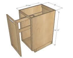 Kitchen Incredible Ana White  Sink Base Cabinet Momplex Vanilla - Sink base kitchen cabinet