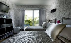 bedroom damask decorating idea for bedroom with damask curtains
