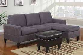microfiber sectional with ottoman modern small sectional sofa modern small gray microfiber sectional