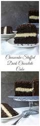 cheesecake stuffed dark chocolate cake sugar spun run