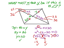 Area Of A Parallelogram Worksheet 5 2 Proving A Parallelogram Math Geometry Showme