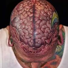12 cerebral brain tattoo design ideas