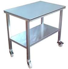 stainless steel butcher table stainless steel table ebay
