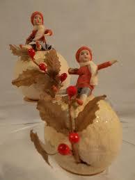 381 best vintage cotton ornaments heubachs images on pinterest