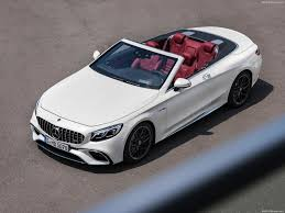 mercedes amg convertible mercedes s63 amg cabriolet 2018 pictures information specs