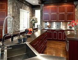 cherry mahogany kitchen cabinets cherry mahogany kitchen cabinets natural cherry shaker cabinets with