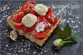 aux fraises cuisine tarte aux fraises crème mousseline verveine la cuisine d agnèsla
