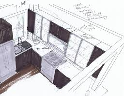 Kitchen Design Drawings Kitchen Design Process Gooosen