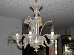 Murano Chandeliers Fascinating Vintage Murano Glass Chandelier As Your Personal House