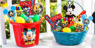 minnie mouse easter basket ideas build your own mickey mouse easter basket party city