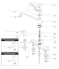 moen single handle kitchen faucet troubleshooting moen kitchen faucet single handle adaptor repair kit lever leaking