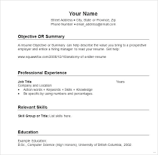 resume formatting exles resume chronological resume format template