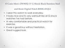 Best Rugged Work Watches Top 10 Casio Watches Reviews Best G Shock Black Watches For Men 2014