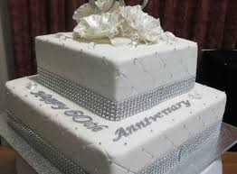 60 wedding anniversary exciting 60 wedding anniversary cake topper various wedding cakes