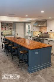 blue kitchen cabinets with wood countertops bathroom wood countertops archives wood countertop