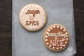 sugar and spice and everything baby shower sugar and spice cookies cookierecipes