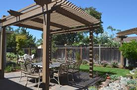 Backyard Arbors Backyard Pergola Shade Structures Traditional Patio San