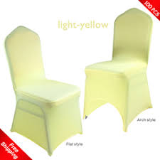 yellow chair covers spandex chair cover for wedding stretch chair cover lycra chair