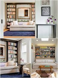 Behind Sofa Bookcase 15 Amazing Ideas To Decorate Behind A Living Room Sofa