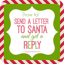 Printable Santa List Templates Letter To Santa Free Templates Just Print Write And Post To The