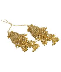 Traditional Design by Much More Unique Traditional Design Gold Plated Bridal Kaleera Set