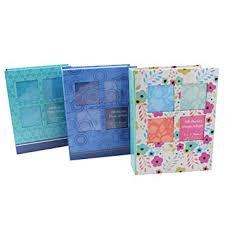 photo album 5x7 pockets tallon 5x7 designer photo album with 100 pockets co uk