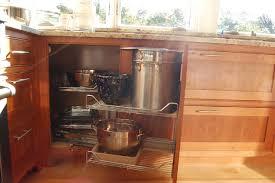 Kitchen Corner Cabinet Pretty Looking Corner Cabinet For Kitchen Perfect Ideas Kitchen